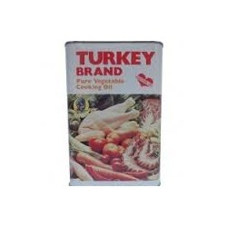 Turkey Brand Pure Vegetable Oil, Cholesterol Free (3 Litres x 6) ​